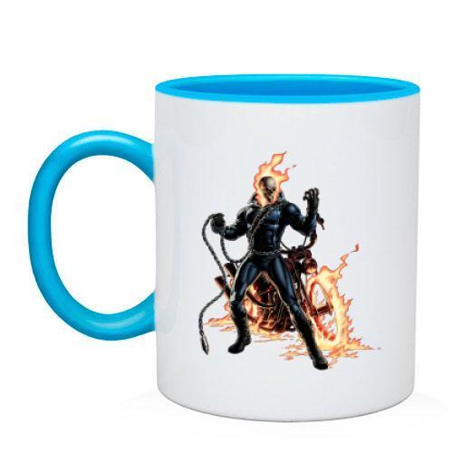 Чашка с призрачным гонщиком (2)