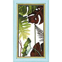 """Набор для вышивания крестом Crystal Art ВТ-167 Триптих """"Сквозь жаркие тропики"""""""