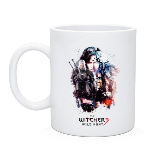 Чашка Ведьмак 3 - Дикая охота