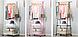 Передвижная напольная вешалка для одежды THE NEW COAT RACK 160х55х42 см, фото 6