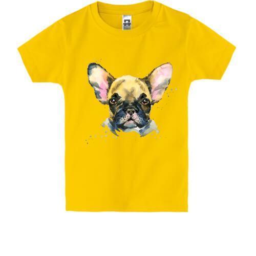 Детская футболка с Французским Бульдогом (1)