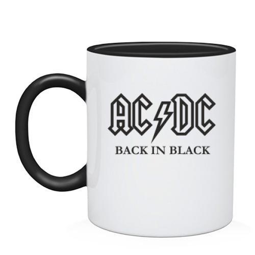 Чашка AC/DC Black in Black