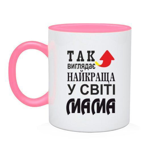 Чашка Так виглядає найкраща мама