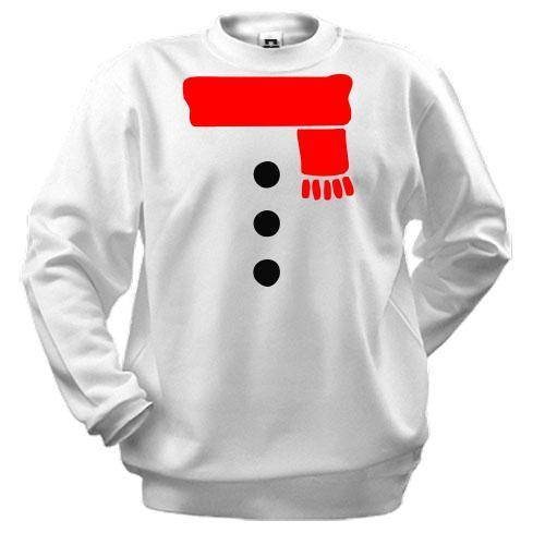 Свитшот Я снеговик