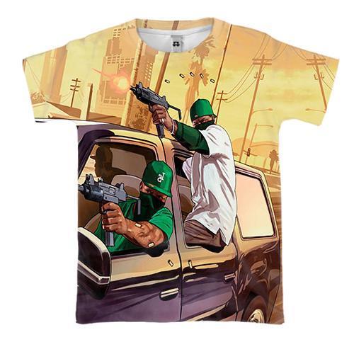 3D футболка GTA - San Andreas