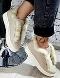 Ботинки молодежные на толстой подошве из натуральной кожи от производителя модель БС20035-3, фото 3