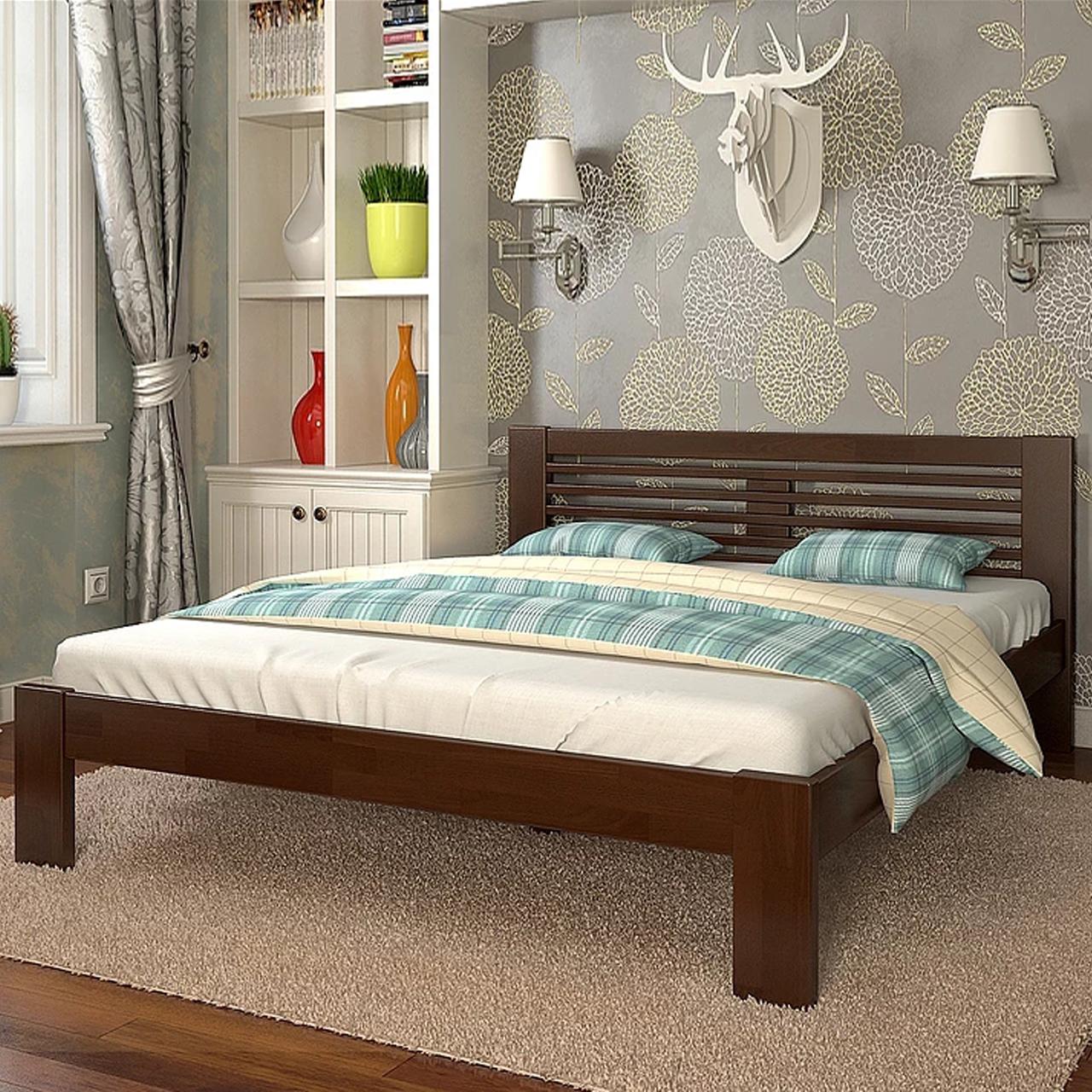 Кровать деревянная двуспальная Шопен