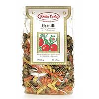 Макарони DALLA COSTA Fusilli tricolor з томатом и орегано 250 г 24 шт / ящ 4401