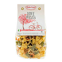 Макарони DALLA COSTA Love pasta tricolor з томатом и шпинатом 250 г 24 шт / ящ 2319