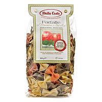 Макарони DALLA COSTA Farfalle tricolor з томатом и базіліком 500 г 12 шт / ящ 1 077