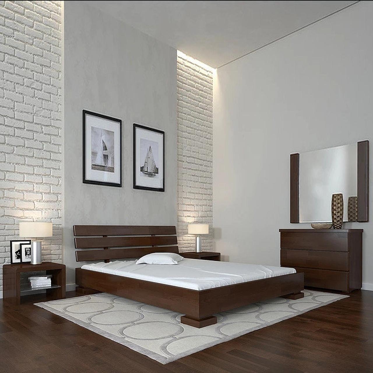 Ліжко дерев'яне Прем'єр