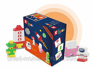 Конструктор для детей кубики NOBI SPACE 89 деталей