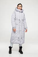 Зимова куртка М0042 ( Сірий ), фото 1