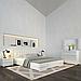 Ліжко дерев'яне двоспальне Регіна Люкс з підйомним механізмом, фото 3