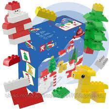 Конструктор детский кубики NOBI NEW YEAR  120 деталей