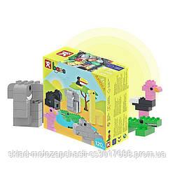 Конструктор детский кубики NOBI AFRICA 120 деталей