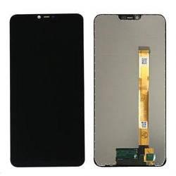Дисплей Oppo A31 2015 черный с тачскрином