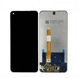 Дисплей Oppo A52, A72 черный с тачскрином