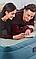 Двухспальная надувная кровать Bestway, 152 х 229 х 43 (79), встроенный электрический насос, цвет:серый, фото 10