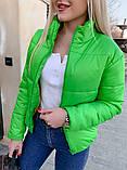 Качественная женская теплая куртка! Утеплена силиконом. Размеры: 42, 44, 46, фото 4