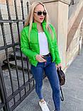 Качественная женская теплая куртка! Утеплена силиконом. Размеры: 42, 44, 46, фото 5