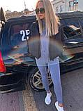 Качественная женская теплая куртка! Утеплена силиконом. Размеры: 42, 44, 46, фото 8