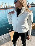 Качественная женская теплая куртка! Утеплена силиконом. Размеры: 42, 44, 46, фото 2