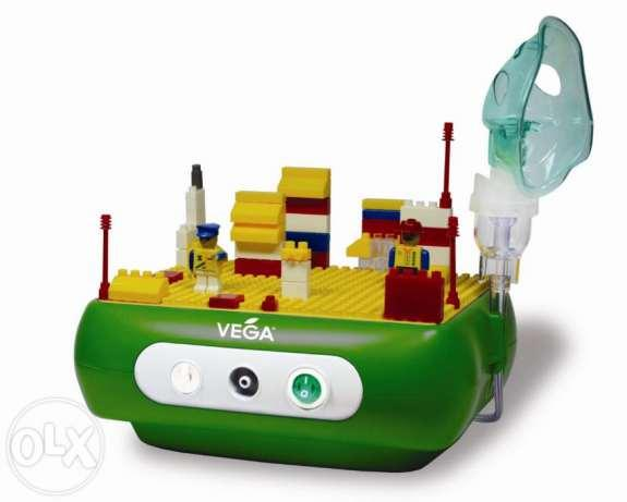 Компрессорный ингалятор Веселый конструктор Vega