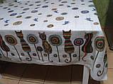 Скатерть рогожка 145х200 Коты, фото 2
