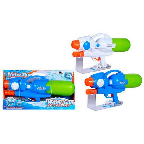 Водяний бластер 8800-2 помпа, 2 кольори, в коробке 50-26,5-8 см, фото 2