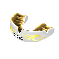 Капа OPRO Power-Fit Bling-Urban Series White/Gold (art.002269005), фото 2