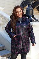"""Пальто жіноче мод. 192 (50-52, 54-56, 58-60, 62-64) """"N. N. C. FASHION"""" недорого від прямого постачальника AP"""