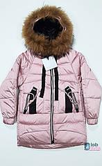 Куртка зимняя детская для девочки.