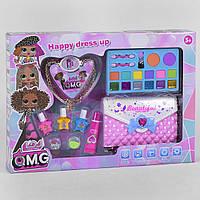 Детская косметика LOL в сумочке CS68E11: тени, помада, лаки - набор декоративной детской косметики для девочки