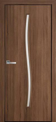 Полотно Гармонія зі склом сатин від Новий стиль (зол.вільха, каштан, ясен,горіх premium,дуб жемчуж), фото 2