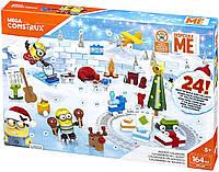 Міньйони Адвент календар Mega Construx Despicable Me Advent Calendar