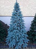 Литая ёлка Премиум -голубая - 1.8 м.
