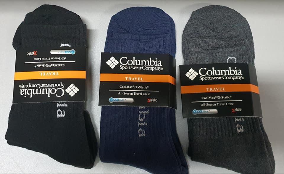 Термоноски влагоотводящие Coolmax Columbia