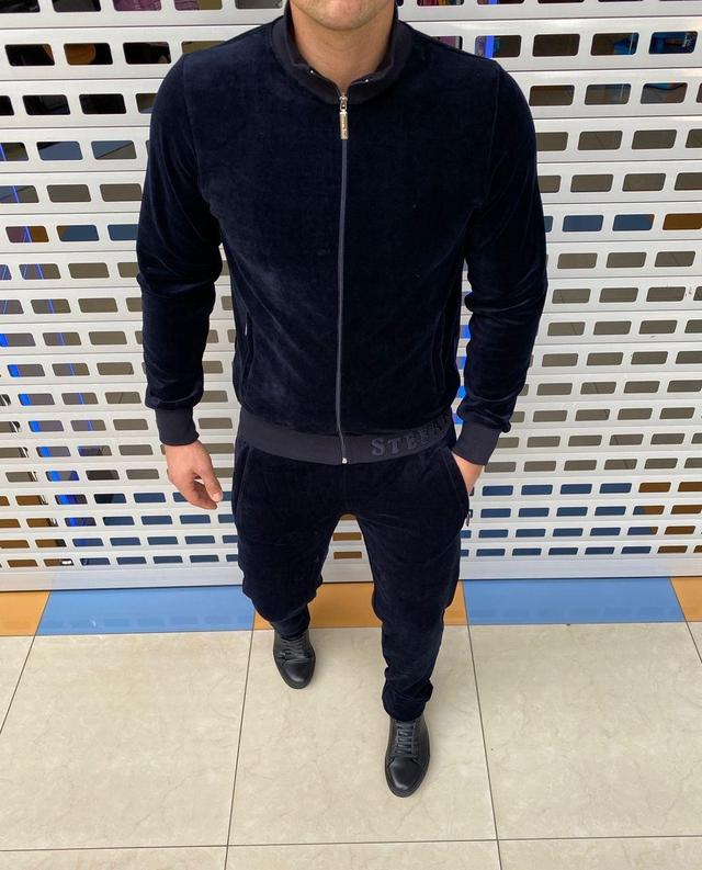 Тёплый мужской спортивный костюм Stefano Ricci