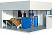 Пеллетный котел с бункером Эталон Pellets Lite 44 кВт самоочищающиеся колосники из жаропрочной стали, фото 3