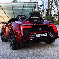 Детский легковой электромобиль Lukan HyperSport (красный цвет) с пультом радиоуправления Bluetooth 2.4G