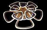 Красивая современная люстра 6521/5+5 CF LED 3color dimmer, фото 2