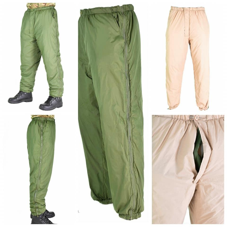 Утеплительная вставка в брюки армии Великобритании реверсивные брюки