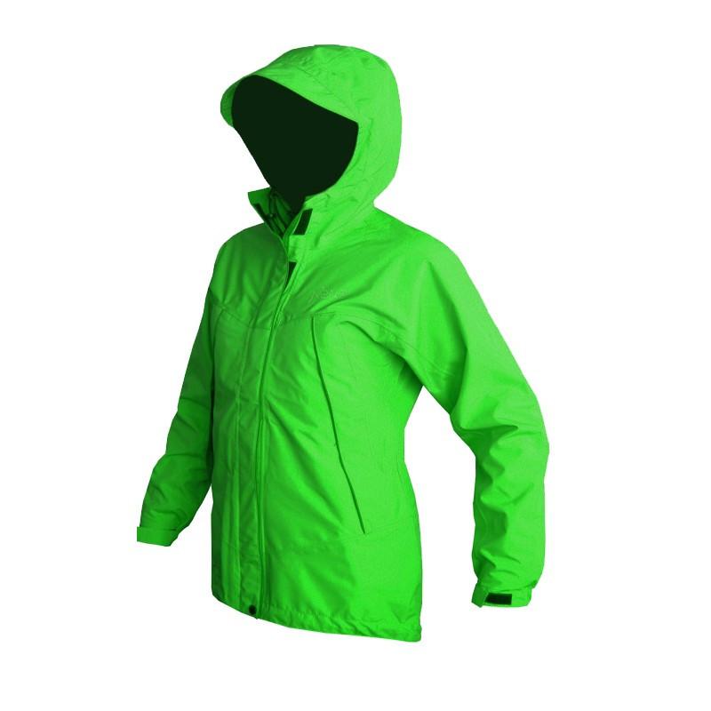Мембранная штормовая женская куртка Neve ISOLA салатовая