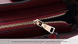 Сумка женская бордовая большая код 3-368, фото 9