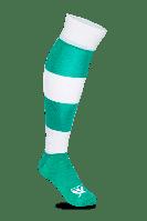 Гетры футбольные Swift Зебра зелено/белые р.27