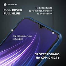 Защитное стекло MakeFuture для Xiaomi Redmi 9C Full Cover Full Glue, 0.25mm (MGF-XR9C), фото 2