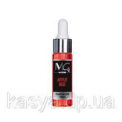 Масло для кутикули MG Nails CUTICULE OIL RED APPLE, 15ml