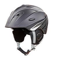 Шлем горнолыжный с механизмом регулировки MOON MS-6287 черный M (55-58)