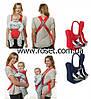 Слинг-рюкзак для переноски ребенка baby carriers en71-2 en71